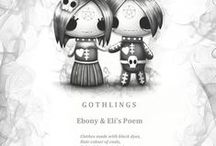 Frightlings With Their Poems / Frightlings aren't just utterly adorable little creatures they have some great advice too.