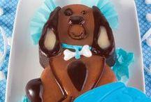 Mini tortiere animali di Pavoni / Sorprendete i vostri bambini con le simpatiche mini torte... / by Pavonidea