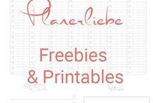 Planerliebe - Freebies / Printables für bessere Zeitplanung & Organisation