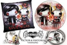Frightlings Products / A mix of all Frightlings products from jewellery to gifts <3