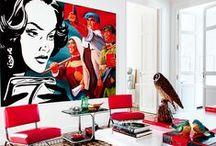Arte en casa / Consejos para exponer arte en casa.