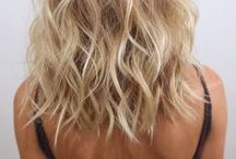 hair / hair hairstyle hair dye blonde cute cut