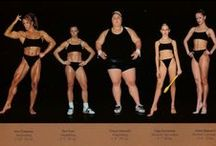 Athletes of all shapes and sizes / Your body can stand almost anything. It's your mind you must convince.