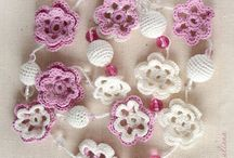 textil jewelry / diy jevelry