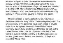 Manuel Monton Bunuel / Spanish artist 1940  - ??