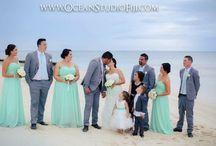 05.09.15-Mana Isl Fiji!My wedding / White, grey & mint green wedding! Our wedding was in Fiji, mana island.