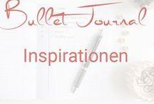 Bullet Journal Inspiration / Bullet Journal - Ideen & Inspirationen