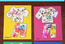 TEACH: Clothes study / Clothes and clothing study for preschool Creative Curriculum