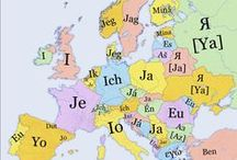 Languages Mix / A colourful mix of languages. Comparing words, expressions, culture in multiple languages.