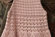 Túnicas / Túnicas a crochet
