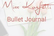 Miss Konfetti | Bullet Journal / Tipps & Inspirationen rund um mein Bullet Journal