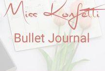 Miss Konfetti | Bullet Journal / Tipps & Inspirationen rund um mein Bullet Journal