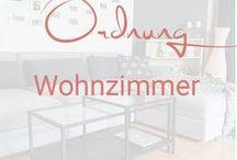 Ordnung Wohnzimmer / Ideen für mehr Ordnung im Wohnzimmer