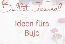 Bullet Journal Ideen / Ideen für Bullet Journal Inhalte