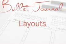 Bullet Journal Layouts / Monatslayouts, Wochenlayouts, Tageslayouts, Tracking
