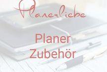 Planerliebe - Zubehör für Kalender & Planer / Zubehör für Kalender und Planer - Stifte, Washi-Tape ...