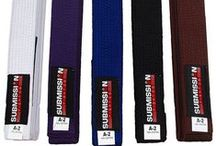 BJJ Belts / All Submission Jiu Jitsu belts are made up of 100% cotton with an extra sleeve sewn on for ranking. Available we have white, blue, purple, brown and black Bjj belts in adult sizes. We also now carry Bjj belts in kids sizes available in white, grey, yellow, orange and green.