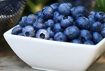 Blueberries / They're not just delicious... they're also good for you!  Blueberries are excellent sources of Vitamin C, manganese and dietary fiber.  Plus, Georgia is a top blueberry producer!