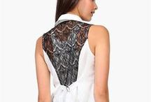 Lace Trimmed Fashion