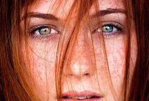 Moodboard Redhead style / www.powerportraits.nl moodboard