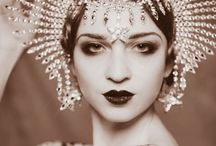 Vintage Erte Fashion / Vintage oriental dance, vintage Hollywood, Erte Fashion