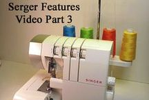 NEW!! Serger Basics & More:  New Video Series  / This is a New Video Series showing how to use the Singer Pro Finish Serger/Overlock Machine.  I will be detailing how to use each of it's stitches as the series progresses, showing which to use for each application and more.