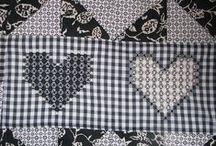Handmade - chicken scratch embroidery