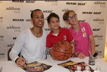Shabazz Napier at Addison Kids 1-Year Anniversary Event / Addison Kids celebrated its one-year anniversary with the Miami Heat's Shabazz Napier. Guests enjoyed fun activities and has their basketballs signed by Shabazz. We look forward to celebrating many more anniversaries!