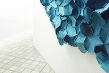 Texture / Inspiring textures that translate to the designs in our textiles is what we look for here. Transforming 3D to print, embossed fabrics and origami styles quilts from inspiration found on this board.