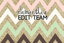 Samantha's Edit Team / Here are the rules: 1: make an edit of the theme of the week 2: The edit with the most likes win 3: Have fun!!  Plz add lots of people once your add you have to add 3 ppl