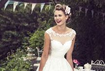 T E A ♡ L E N G T H / A dedicated tea length bridal collection with a retro edge. For stockist enquiries email info@truebride.co.uk