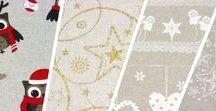 Nadal / Navidad / Christmas / Teles amb motius de Nadal // Telas con motivos de Navidad // Christmas motif fabrics