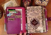 Filofax, agendas e scrapbooks