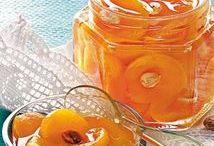 Recipes - Marmalade, jam,  jelly