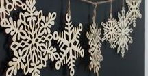 DIY Special Snowflakes / Winter is coming - and it is time to create some snowflakes that do not melt for inside joy. Grab your scissors (remember not to run with them!), paper, yarn etc. and surprise yourself with the special snowflakes you create. Remember to treat them gently.