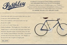 British Brands - Pashley / Pashley Bikes are an inspiration because of their design values of heritage, good design and great craftsmanship.