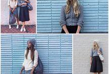Fashion Streetwear Style / Fashion, streetwear, style inspiration, outfits, knitwear