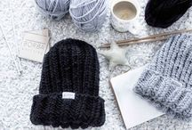 Knitting and Crocheting / #knitting #yarn #handmade #accessories #hats