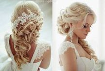 Wedding hairstyles / Ideas for LONG hair! *.*