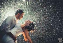 Rainy Wedding Photosession