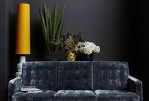 Interiors Styling - Grey Walls and Bright Accessories