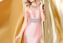 We love Blush! / Fall in love with our beautiful blush colored dresses only from www.shailkdresses.com  Visit our website to find a retailer near you today.   Don't forget to follow us on Instagram @shailkdresses