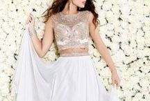 The White Dress / Looking for the perfect white dress?  Whatever the event, we have you covered.  Stop by a retailer today. www.shailkdresses.com
