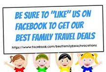 Family Travel Deals ☼ / Get a great Deal on your next family vacation. Some of these Travel Deals may be time sensitive so be sure to check this board often! Family Vacations and special low discounted vacation packages. Flights, hotels & resort packages for large families to Mexico, Dominican Republic, Cuba and stunning Caribbean destinations. Find all-inclusive meals, drinks and activities programs in great resorts