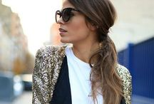 Hair and Style. / Awesome hair styles to awesome outfits.