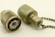 HN Connectors / HN connectors are used in high voltage applications were high temperature and vibrations are present. Used in, but not limited to: test equipment, cable assemblies, and aeronautics.