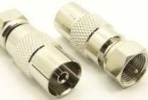 PAL Adapters / PAL connectors are a standard TV connector in the UK. PAL connectors are also referred to as: TV aerial connectors,