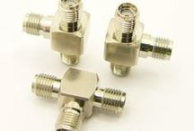 SMA Adapters / SMA connectors are a threaded, tight locking, subminiature connector. The SMA connector's threads insure a perfect connection allowing use at higher frequencies. ~18 GH
