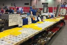 """Amateur Radio Hamfests / A hamfest is a meeting of people interested in Amateur Radio. Hamfests offer exhibits, forums, and fleamarkets for Amateur Radio operators or """"hams."""""""