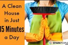 Everyday Sanitation Tips / Easy tips and tricks to keeping your belongings and home clean.